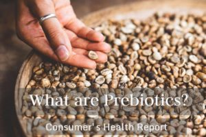 Image of a person holding prebiotic grains